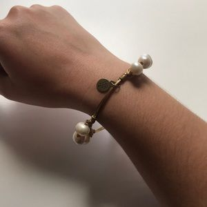 Bourbon and Bowties Pearl Bracelet